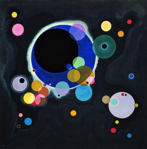 Vassily Kandinsky, 1926 - Several Circles